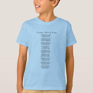 祖母の知恵の真珠-孫 Tシャツ