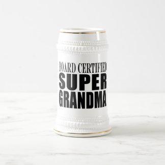祖母の祖母の板によって証明されるすごい祖母 ビールジョッキ