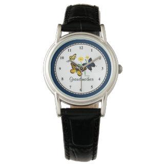祖母の蝶 腕時計