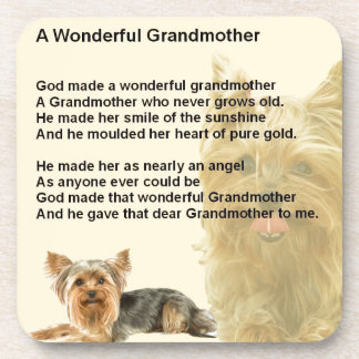 祖母の詩-ヨークシャテリア コースター