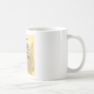 祖母の詩-ヨークシャテリア コーヒーマグカップ