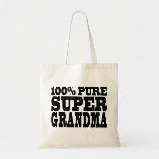 祖母の誕生日: 100%の純粋なすごい祖母 トートバッグ