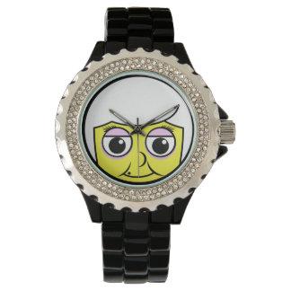 祖母の顔 腕時計
