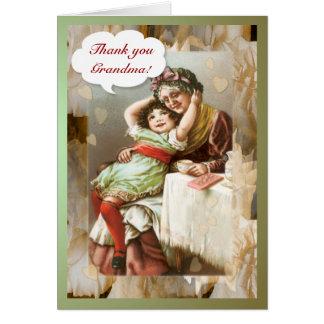 祖母の~カードありがとう カード