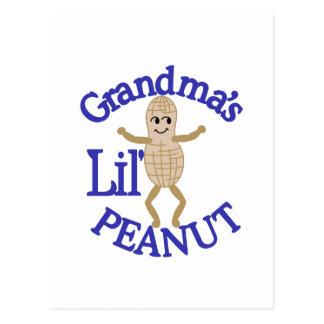 祖母のLilピーナツ ポストカード