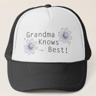 祖母はベストを知っています キャップ