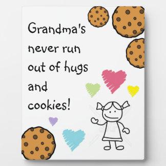 祖母は決してプラクを走りません フォトプラーク