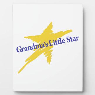 祖母少し星 フォトプラーク