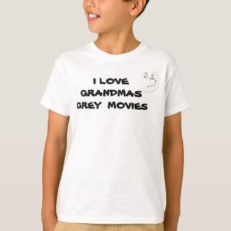 祖母灰色映画子供のティー Tシャツ