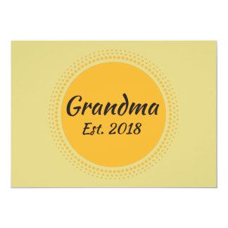 祖母米国東部標準時刻。 2018年の発表カード カード