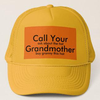 祖母 キャップ