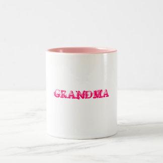 祖母 ツートーンマグカップ