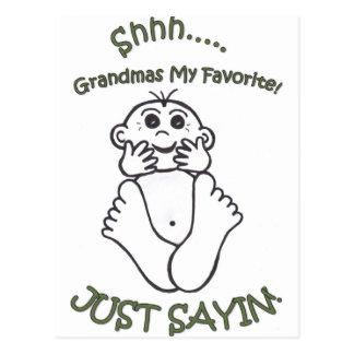 祖母 ポストカード