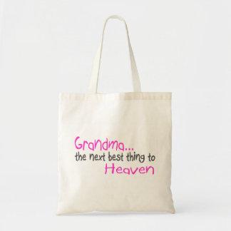 祖母、天国への次の最も最高のな事 トートバッグ