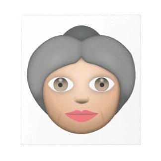 祖母- Emoji ノートパッド