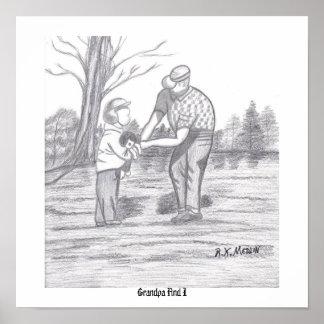 祖父およびI ポスター