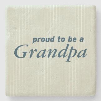 祖父があること誇りを持った! ストーンコースター