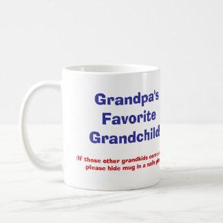 祖父のお気に入りのな孫! コーヒーマグカップ