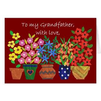 祖父のための祖父母日カード カード