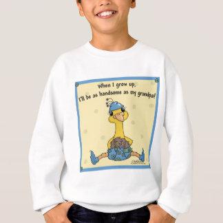 祖父のようにハンサムなPeachick スウェットシャツ