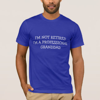 祖父のクリスマスのプレゼントのワイシャツのプロフェッショナルGRAMPS Tシャツ