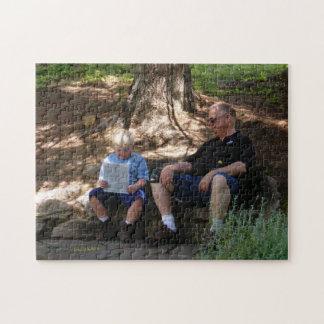 祖父のパズルとの地図の判読 ジグソーパズル