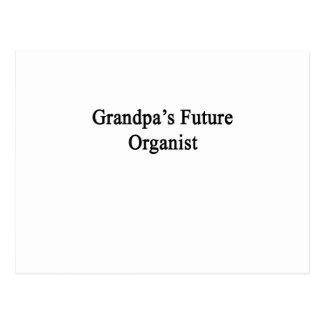 祖父の未来のオルガン奏者 ポストカード