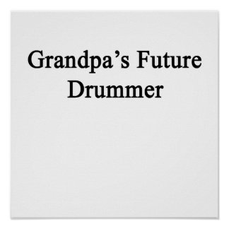 祖父の未来のドラマー ポスター