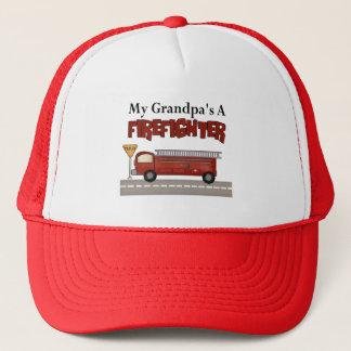祖父の消防士sのギフト キャップ