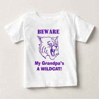 祖父の用心して下さい! 子供のTシャツ ベビーTシャツ