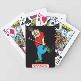 祖父の第70遊ぶカード バイスクルトランプ