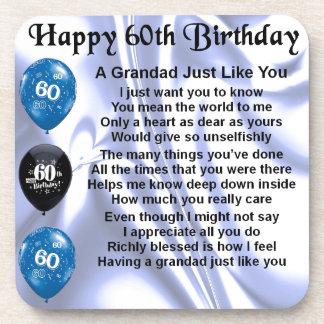 祖父の詩-第60誕生日 コースター