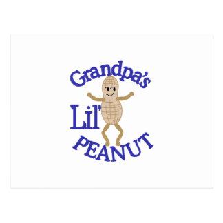 祖父のLilピーナツ ポストカード