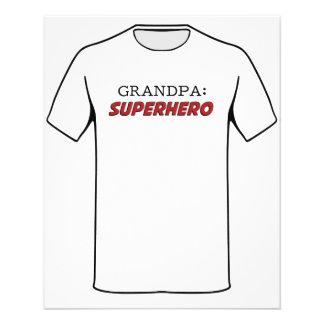 祖父はスーパーヒーローの祖父です チラシ
