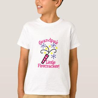 祖父少し爆竹 Tシャツ