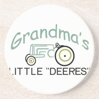 祖父少しDeeres コースター