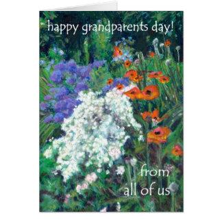 祖父母日カード-私達皆から-ケシ カード