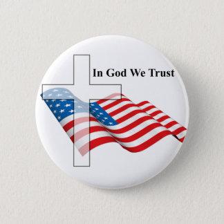 神および国の愛のため 缶バッジ