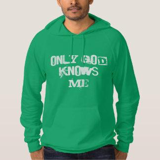 神だけテッドによって私をフード付きスウェットシャツ知っています パーカ