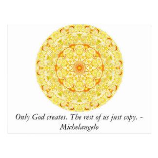 神だけ作成します。 残りの人達のちょうどコピー ポストカード