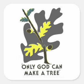 神だけ木を作ることができます スクエアシール