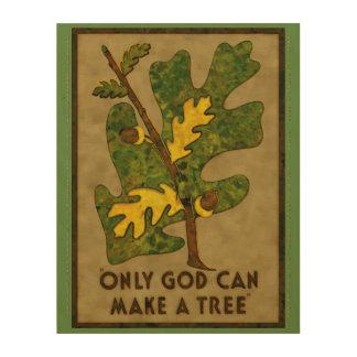 神だけ解釈し直される木を作ることができます ウッドウォールアート