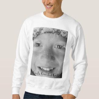 神で最も素晴らしいギフト スウェットシャツ