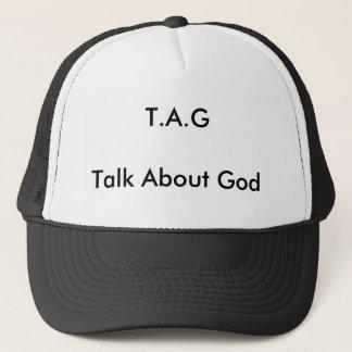 神についてのT.A.GTalk キャップ