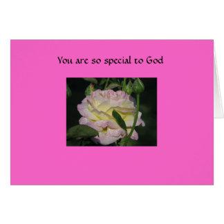 神にとても特別です カード