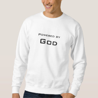 神によって動力を与えられる スウェットシャツ