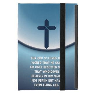 神のためのジョンの3:16はそう世界を愛しました iPad MINI ケース