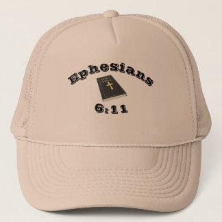 神のトラック運転手の帽子w/Bibleの装甲 キャップ