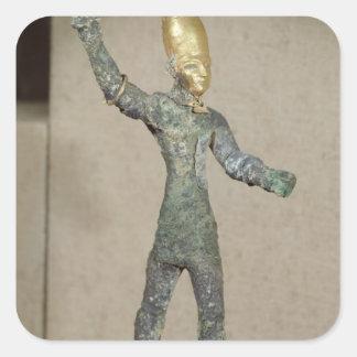 神のバアルの偶像、Ugaritから、シリア スクエアシール