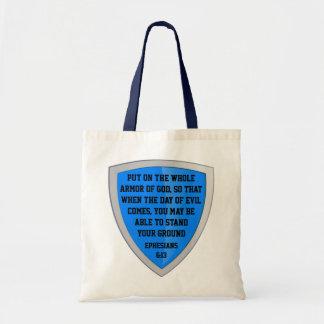 神のバッグの装甲 トートバッグ